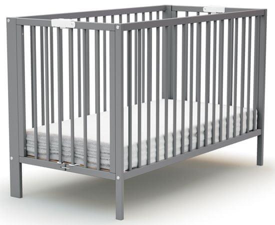 AT4 łóżeczko dziecięce EVOLUTION 60 × 120 cm