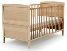 AT4 otroška postelja EVOLUTION (2v1), 70 × 140 cm, bukev
