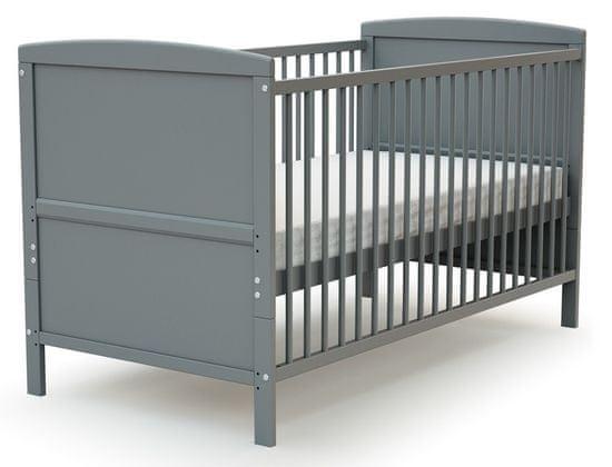 AT4 łóżeczko dziecięce EVOLUTION (2w1) 70 × 140 cm