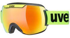 Uvex gogle narciarskie Downhill 2000 CV, black lim SL/orange-fire (3030)