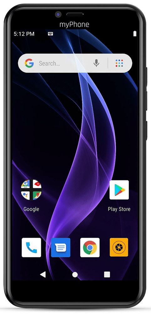 myPhone Prime 4 Lite, 2GB/16GB, modrý