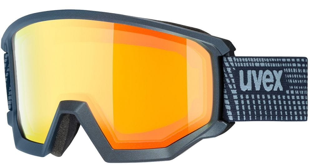 Uvex Athletic FM, navy mat/orange lgl (4130)