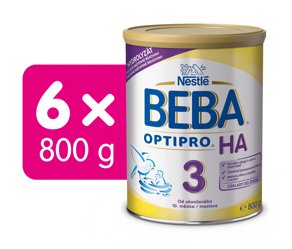 BEBA OPTIPRO HA 3 (6x800 g)