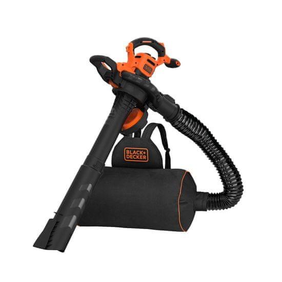 Black+Decker Elektromos levélfújú 3az1ben, 3000 W (BEBLV300-QS)
