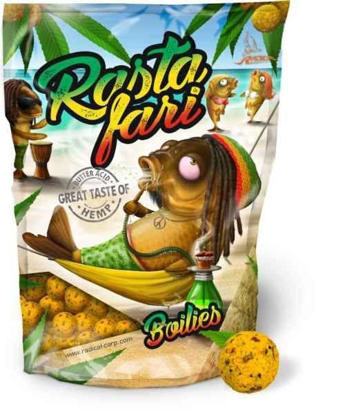 Radical boilies Rastafari 20mm 1kg
