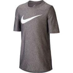 Nike dětské tričko Dri-FIT M, šedá