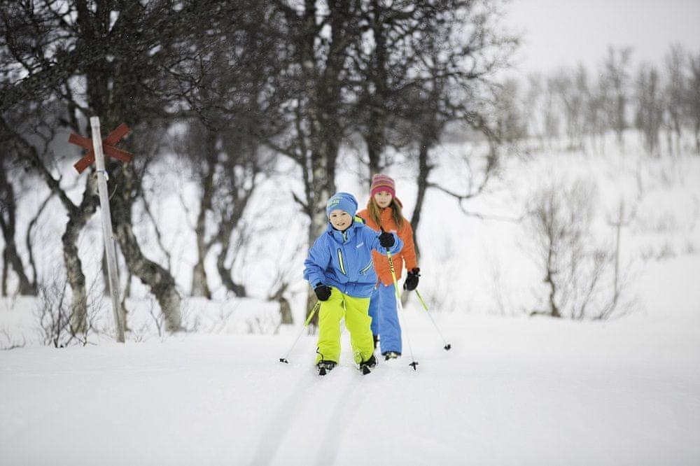 Stiga Dětské běžky Snowfling 110 černé - zánovní