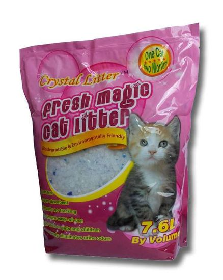 Crystal Litter Cat 7,6 literes