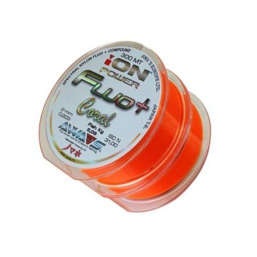 Awa-Shima Rybářský vlasec Awa-Shima Ion power Fluo+ Coral 600m