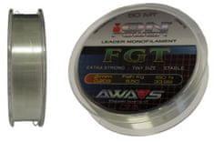 Awa-Shima rybářský vlasec iON POWER FGT - 50m nosnost: 4.60Kg, průměr: 0,181mm