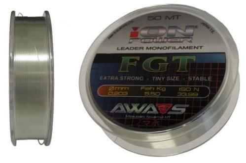 Awa-Shima rybářský vlasec iON POWER FGT - 50m
