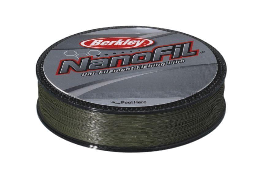 Berkley Nanofil Berkley 125m 0,28 mm Zelený