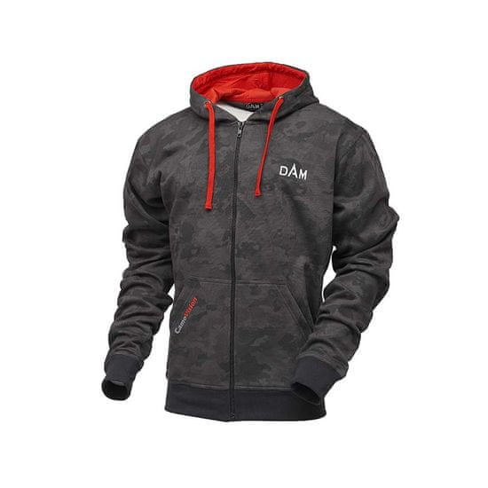 D.A.M Mikina CamoVision Zip Hoodie