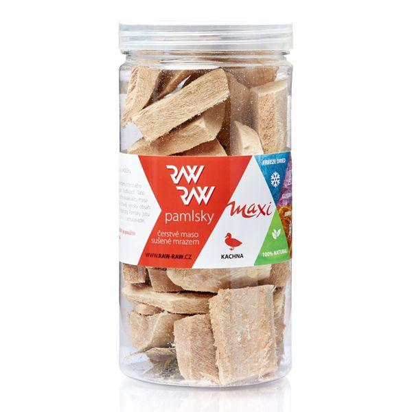 RAW RAW pamlsky Freeze Dried - MAXI kachna 70g