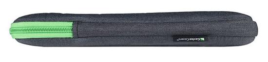 "Gecko Universal Zipper sleeve torba za prenosnik, 13"", temno siva"