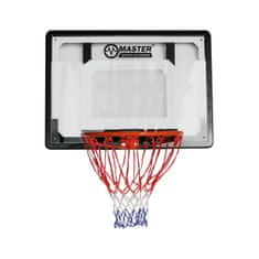 Master basketbalový kôš s doskou 80 x 58 cm