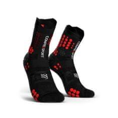 Compressport Racing V3.0 Trail nogavice, črno-rdeče, T3