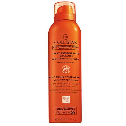 Collistar Sprej na opalování SPF 20 (Moisturizing Tanning Spray) 200 ml