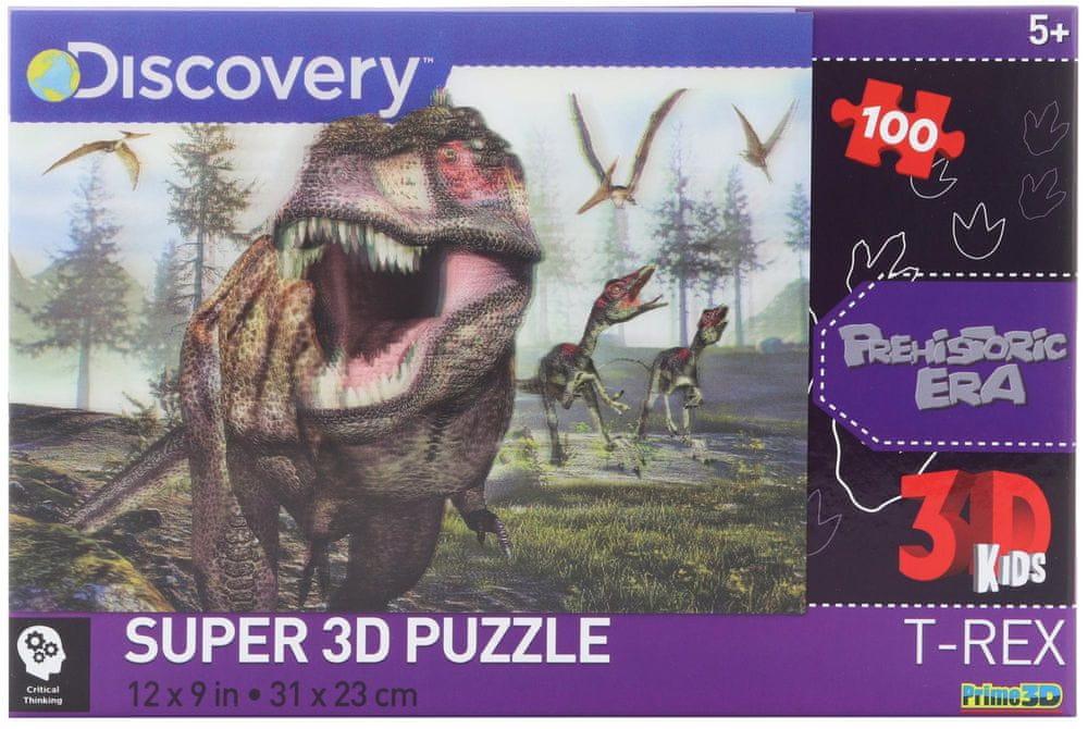 Lamps 3D Puzzle T-Rex 100 dílků