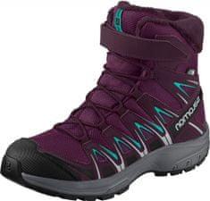 Salomon membrános téli lány cipő XA PRO 3D WINTER TS CSWP J 34 lila