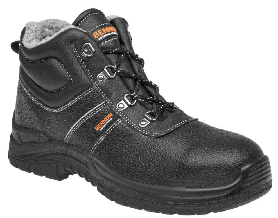 Bennon Zimní pracovní kotníková obuv Basic O2 černá 45