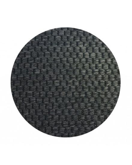 Vopi Kusový koberec Nature antracit kulatý