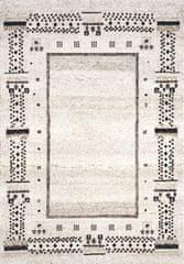 Merinos Kusový koberec Ethno beige 21412-760 80x150
