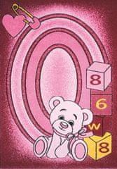 Spoltex AKCE: 133x195 cm Detský kusový koberec Toys pink C 126 133x195
