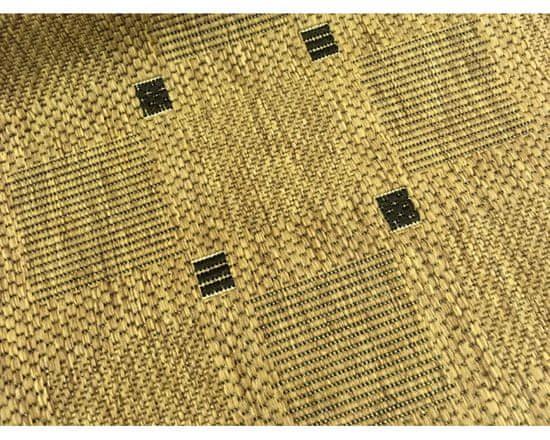 Devos Kusový koberec FLOORLUX Coffee/Black 20079 Spoltex