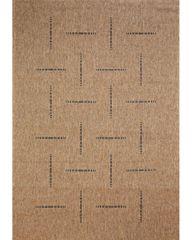 Devos Kusový koberec FLOORLUX Coffee/Black 20008 Spoltex 60x110