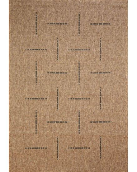 Devos Kusový koberec FLOORLUX Coffee/Black 20008 Spoltex