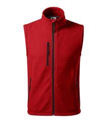 Malfini Unisex fleecová vesta Malfini Exit 525 červená L