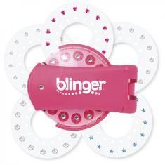 Blinger: Diamentowa kolekcja - różowy