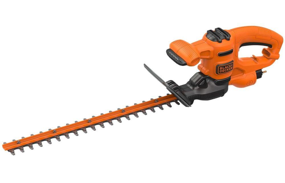 Black+Decker Elektrické nůžky na živý plot 420W BEHT201