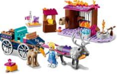 LEGO Disney Princess 41166 Elsa autós kalandjai