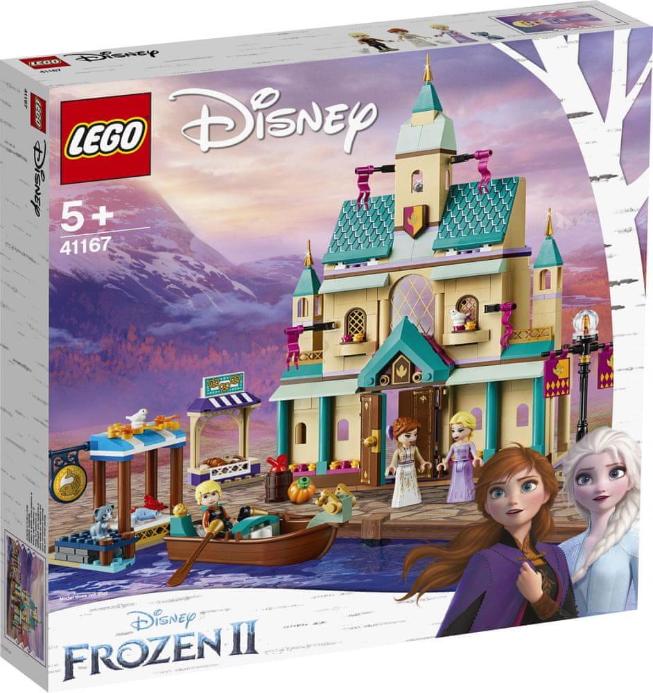 LEGO Disney Princess 41167 Vesnička pod hradem v Arendelle