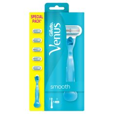 Gillette ročaj britvice + 5 rezervnih glav Venus