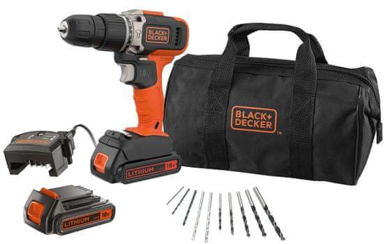 Black+Decker BCD003BA10S-QW akumulatorski vrtalnik