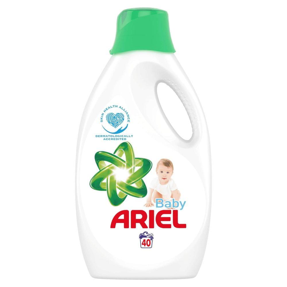 Ariel Baby tekutý prací prostředek 2,2 l (40 praní)