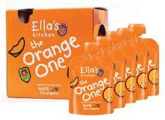 Ella's Kitchen Ovocné pyré - Orange One (Mango) - 5 ks EXPIRACE 7/2021