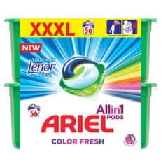 Ariel Touch of Lenor 3in1 gél kapszula, 56db