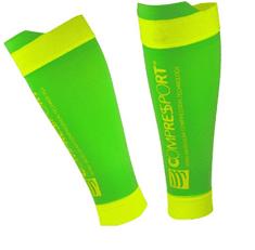 Compressport Calf R2 V2 Fluo nogavčk,i 1, zeleni