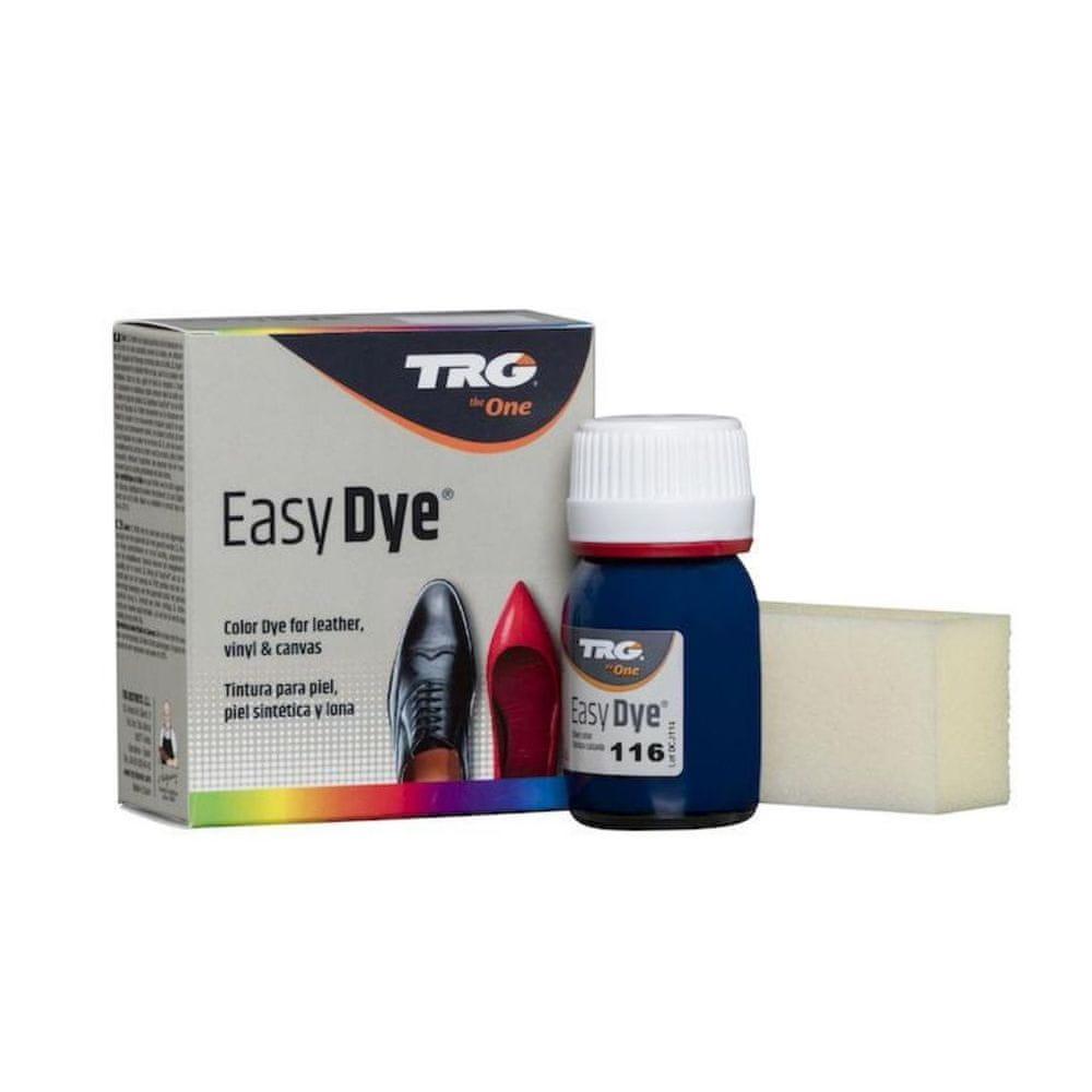 TRG One Barva na kůži, koženku a obuvnické plátno EasyDye - Modrá 116 Midnight
