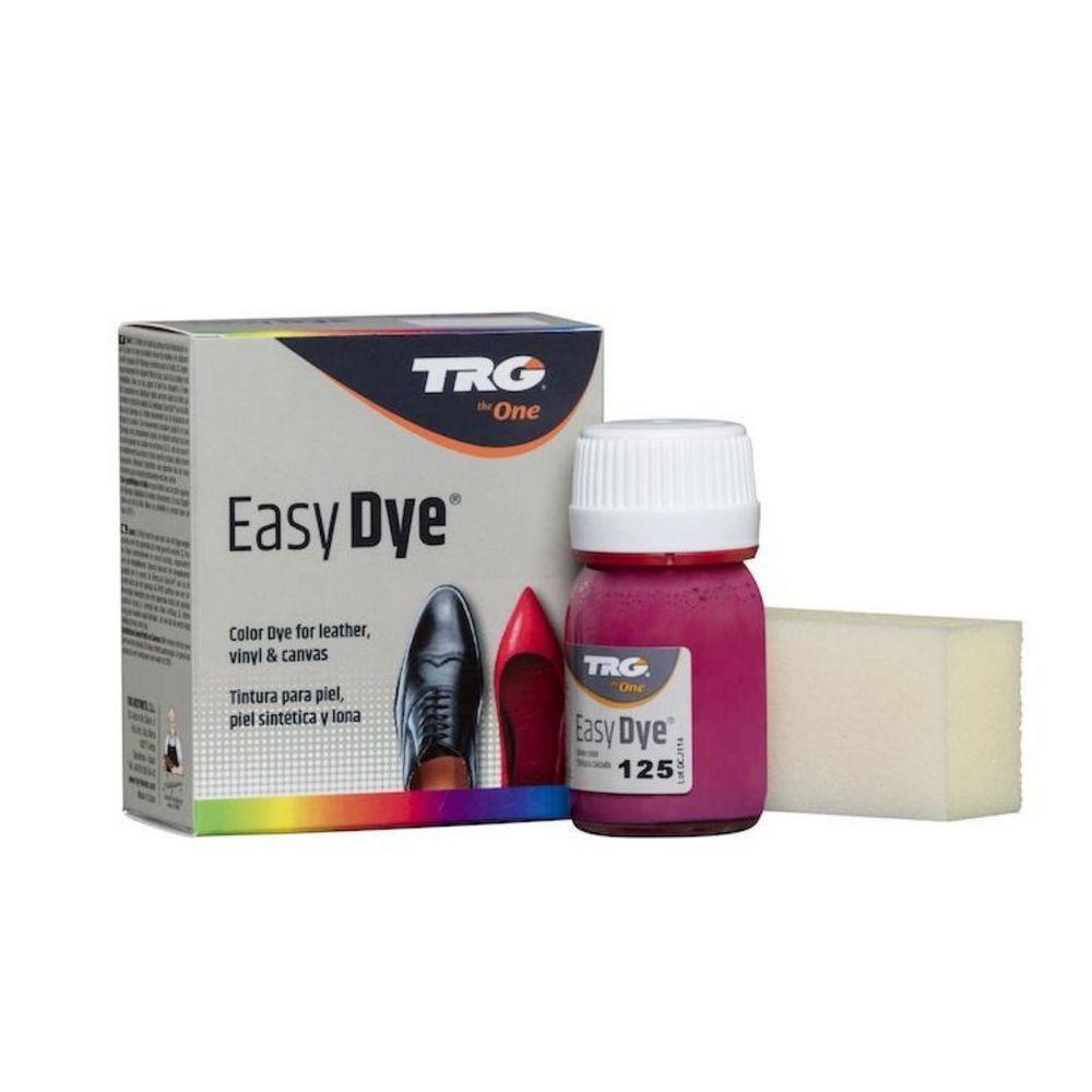 TRG One Barva na kůži, koženku a obuvnické plátno EasyDye - Růžová 125 Fuchsia