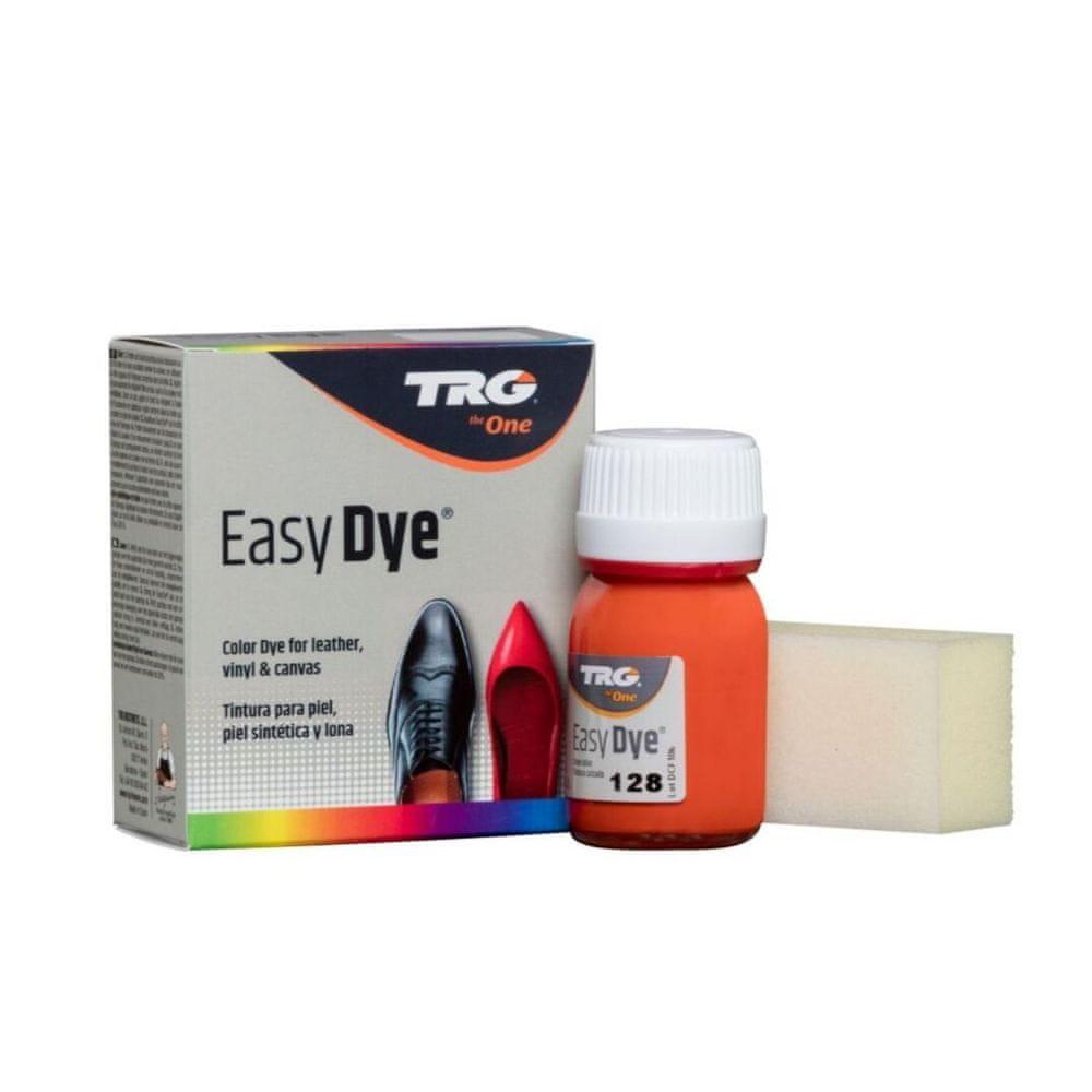 TRG One Barva na kůži, koženku a obuvnické plátno EasyDye - Oranžová 128 Orange