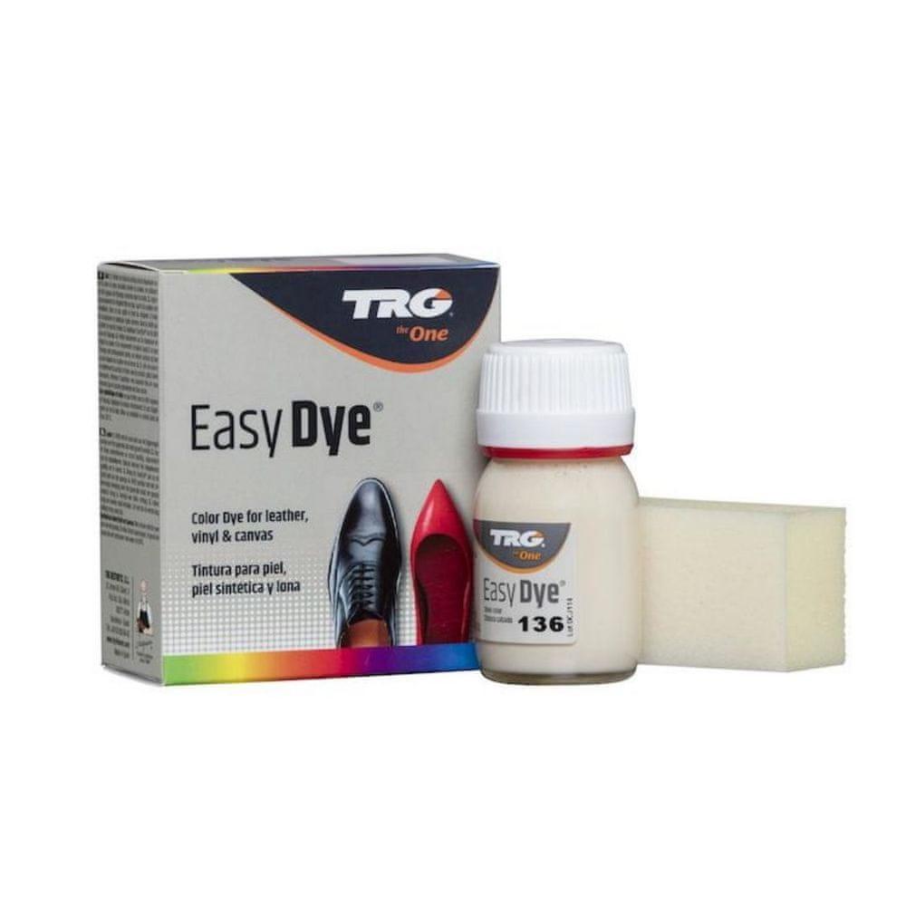TRG One Barva na kůži, koženku a obuvnické plátno EasyDye - Béžová 136 Ivory