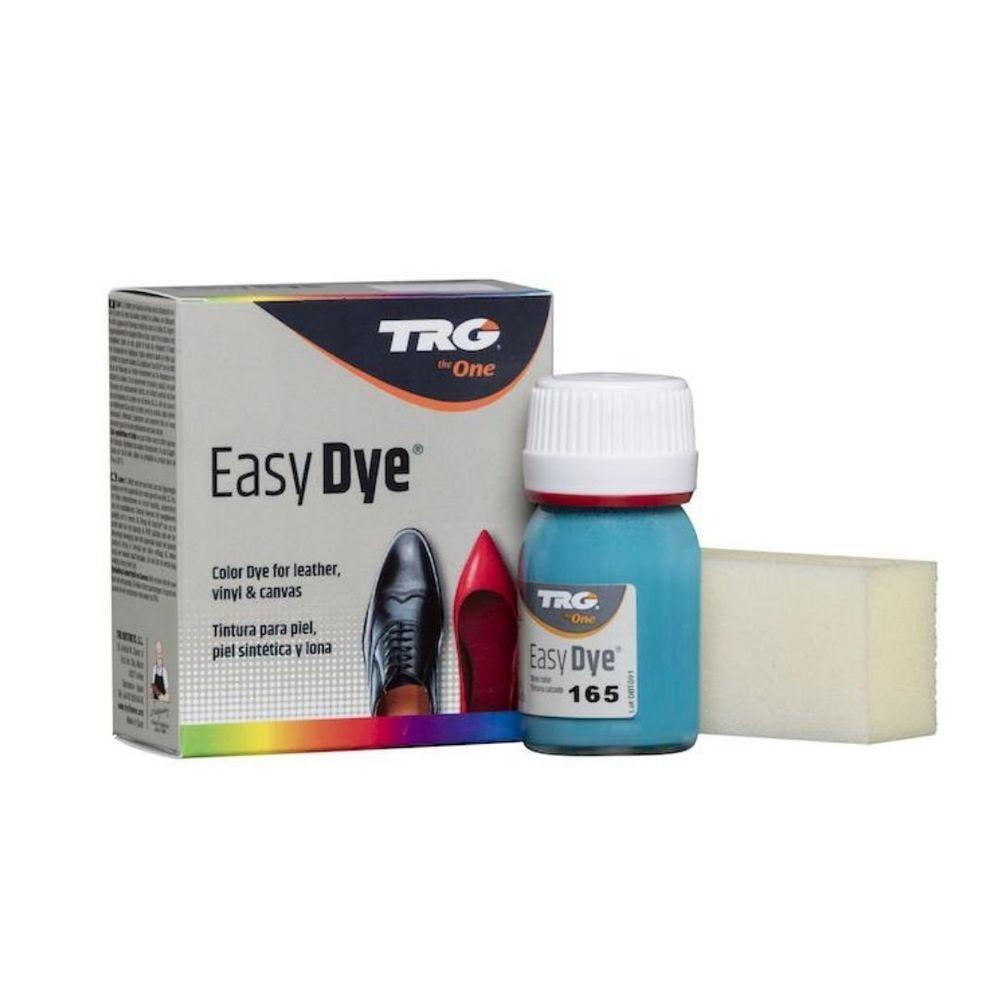 TRG One Barva na kůži, koženku a obuvnické plátno EasyDye - Modrá 165 Turquoise