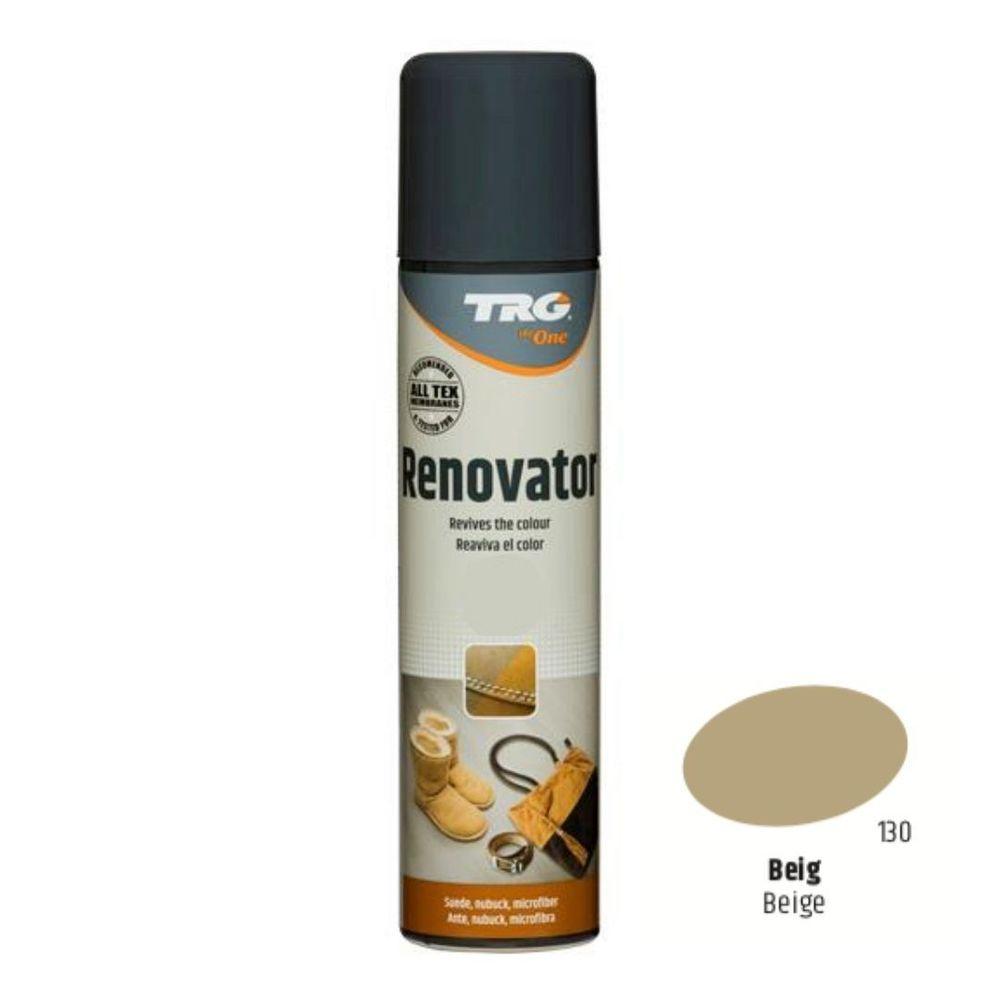 TRG One Barvící sprej na semiš, nubuk a ovčí kůži Suede Renovator - Béžová 130 Beige