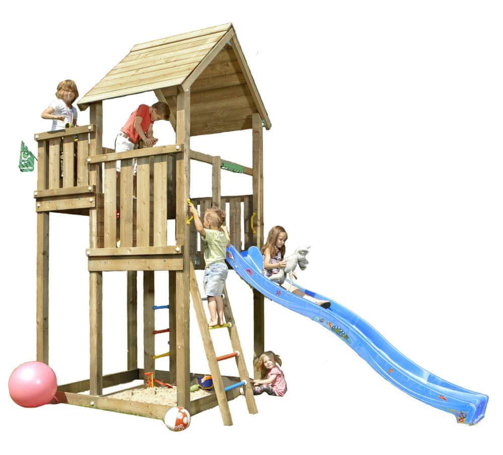 Jungle Gym Dětské hřiště Palace – modrá