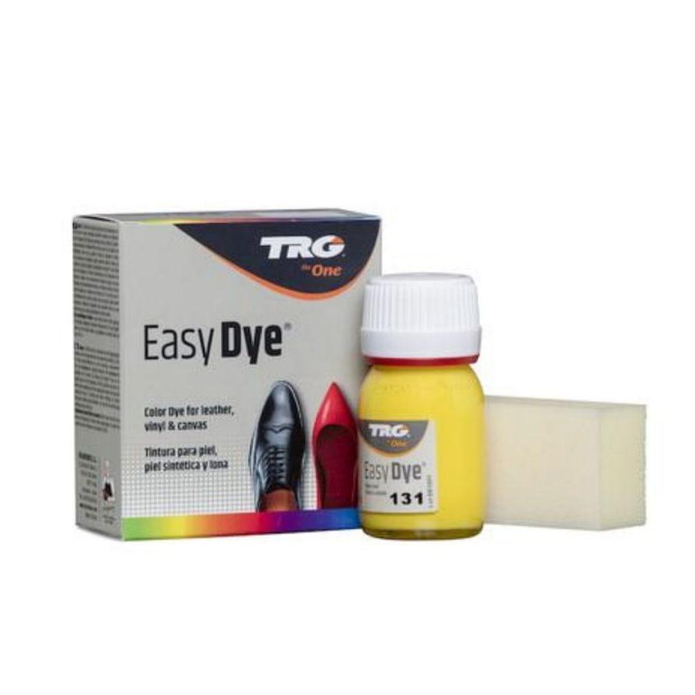 TRG One Barva na kůži, koženku a obuvnické plátno EasyDye - Žlutá 131 Lemon